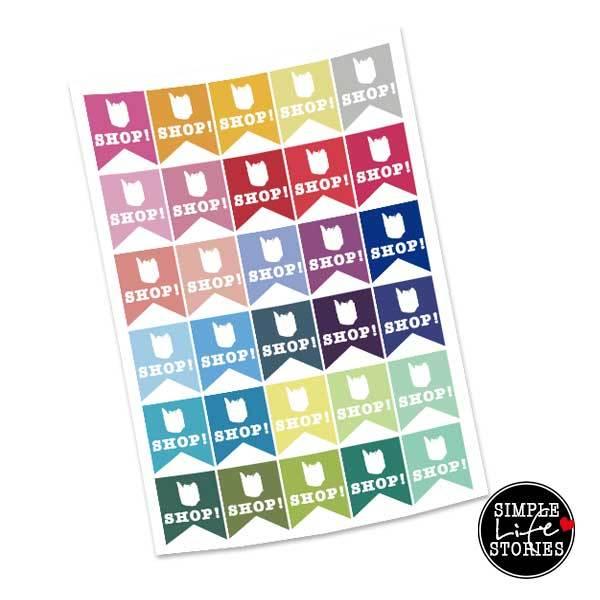 filofaxing shop page flag stickers f r erin condren life planner filofax und scrapbooking. Black Bedroom Furniture Sets. Home Design Ideas