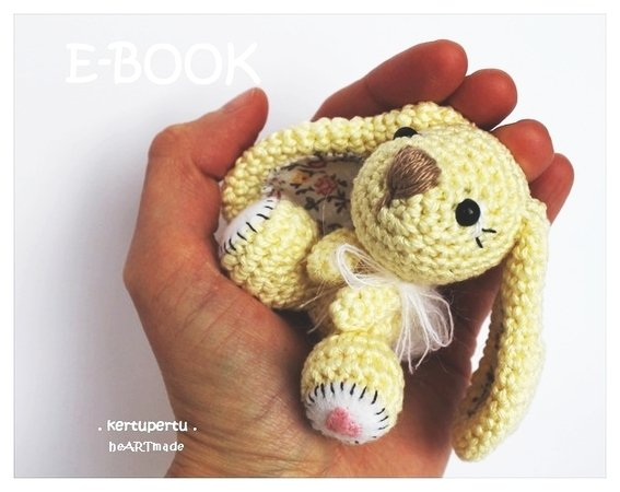 Giant Mabel Bunny Crochet Kit by Wool Couture   450x567