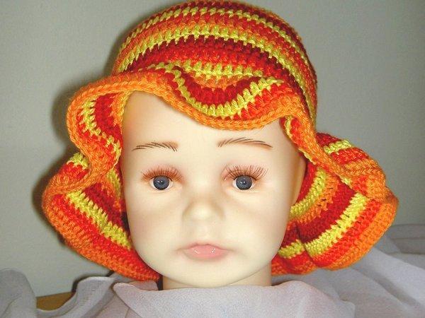 Ausgezeichnet Häkelanleitungen Hüte Für Kinder Bilder - Schal ...
