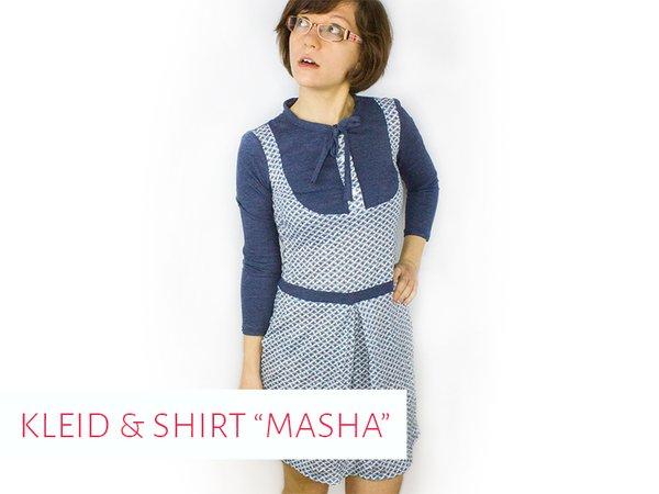 """Schnittmuster Kleid & Shirt """"Masha"""""""