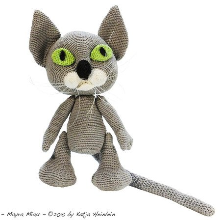 Cat Amigurumi Tutorial | Amigurumi pattern, Crochet cat, Cute crochet | 450x457