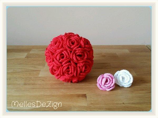 deko ball rosenmotiv h keln rosen ball. Black Bedroom Furniture Sets. Home Design Ideas