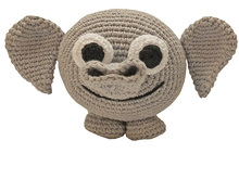 amigurumi animal glotzis PDF crochet pattern tutorial by Katja Heinlein elephant tusker stuff toy digital file indian asien african tutorial