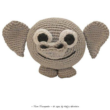 Crochet Elephant Plush Toy Amigurumi Free Patterns   Crochet ...   450x450