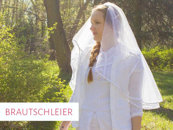 Freebook Brautschleier nähen - DIY Schleier