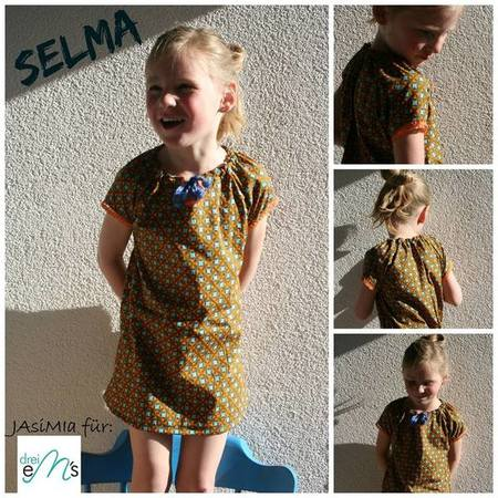 E-Book Bluse mini Selma 74/80 - 146/152