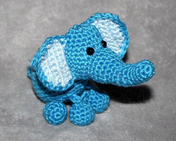 Elefant Häkeln Amigurumi Anhänger Diy