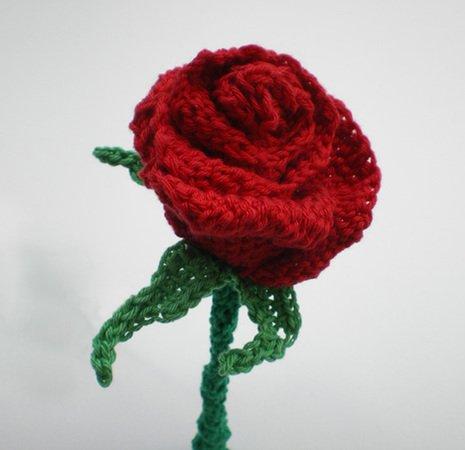 Tunesisches Häkeln: Rose, Rosen, vielseitig einsetzbar: als Deko ...