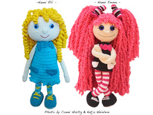 crochet pattern Nanni, pdf tutorial, amigurumi girl by doll file girl dolly maid ebook human people girlie child puppet