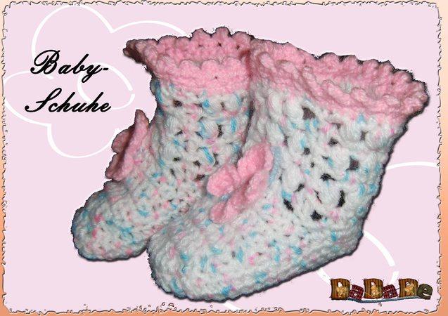 Baby Schuhe Größe 68 74 Eine Häkelanleitung