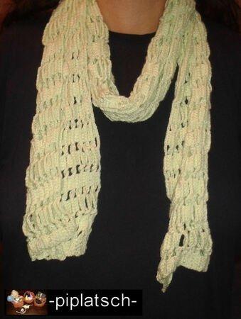 gratis Schal häkeln - Freebook Schal häkeln