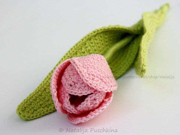 Blumen Häkeln Tulpen Strauß Häkeln Diy