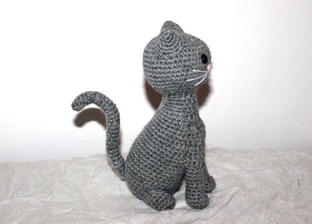 Katze Häkeln Tiere Häkeln Amigurumi Diy