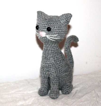 katze h keln tiere h keln amigurumi diy. Black Bedroom Furniture Sets. Home Design Ideas
