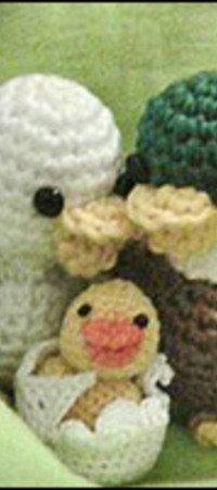 Gratis Ente Häkeln Mini Ente Mini Tierchen