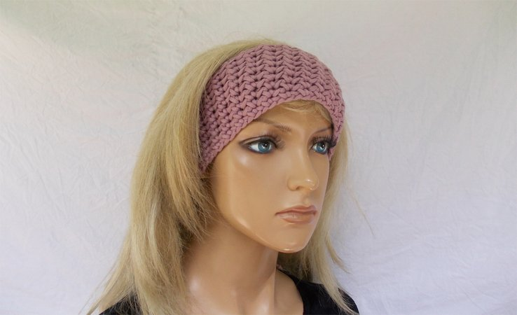 Häkelanleitung Stirnband, head band, Haarband, Kopfband