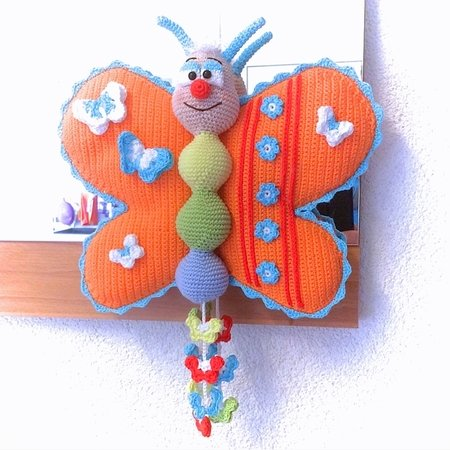 Smile with me butterfly - Crochet Pattern from Diana´s kleiner Häkelshop