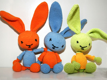 Bunny - Rabbit - Crochet Pattern