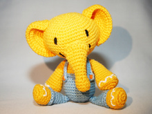 Elephant - Crochet Pattern