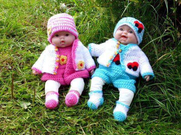 Puppen Kleider Häkeln Super Für Anfänger