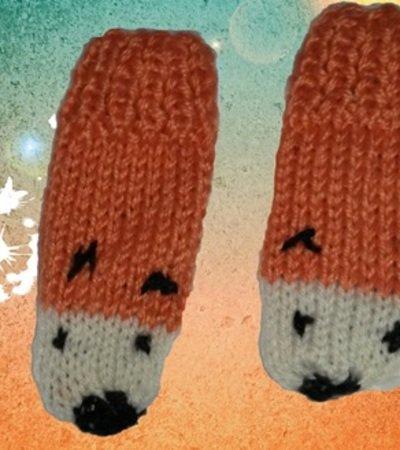Strickanleitung Handschuhe für Kinder Kinderhandschuhe 1-2 Jahre ...