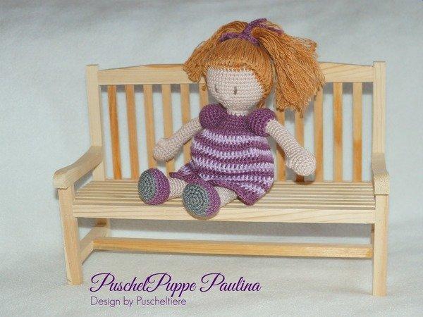 Kostenlose Häkelanleitung Kleine Puppe Paulina