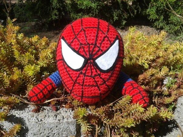 Spiderman, Spinnenmann Häkelanleitung