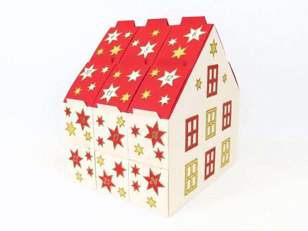 E-Book Filzhaus Geschenkverpackung Adventskalender