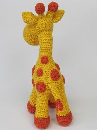 Häkelanleitung April die Giraffe PDF amigurumi | Etsy | 450x338