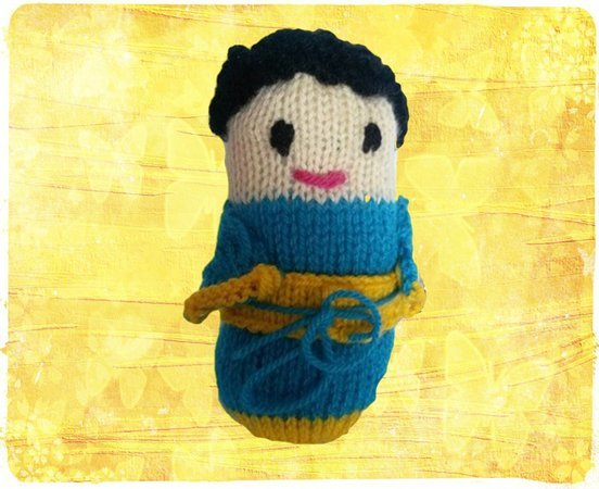 Strickanleitung Puppe- auch für Anfänger