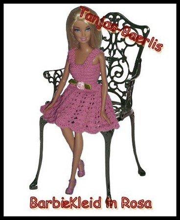 Anleitung Barbie Kleid In Rosa