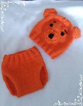 Strickanleitung Baby Mütze Und Baby Hose Bis 4 Monate Teddy