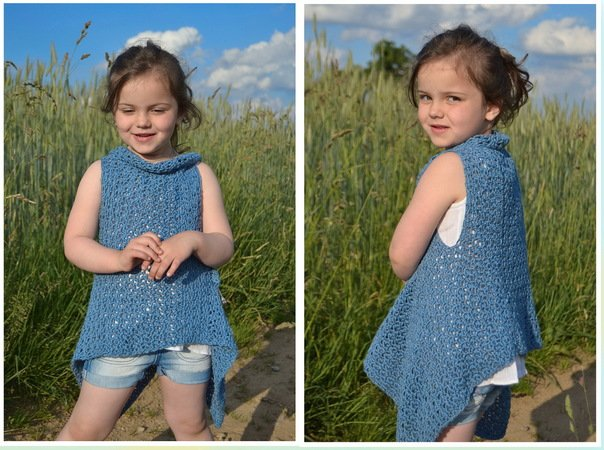 Sommer Weste Häkeln Für Kinder Damen