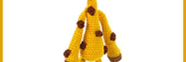 Amigurumi Hakelanleitung Gina Giraffe : Anhanger-Giraffe hakeln--Deko + Amigurumi DIY