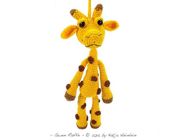 Amigurumi Hakelanleitung Gina Giraffe : Hakelanleitung Anhanger Giraffe Amigurumi Baumler - Fotos ...