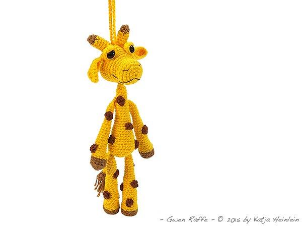 Amigurumi Giraffe Kostenlos : Anhanger-Giraffe hakeln--Deko + Amigurumi DIY