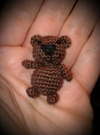 Gratis Bär Häkeln Teddy Passt In Eine Hand