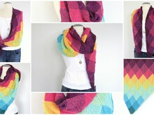 Strickanleitung - Dreieckstuch Do-Mino - No.117