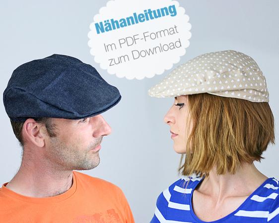 Nähanleitung Schirmmütze Für Erwachsene Kinder Nähen Mütze Pdf