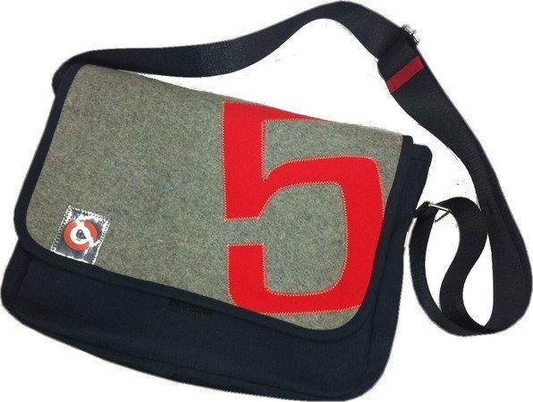 Nähanleitung und Schnittmuster, pattern, Messengerbag, Schultertasche