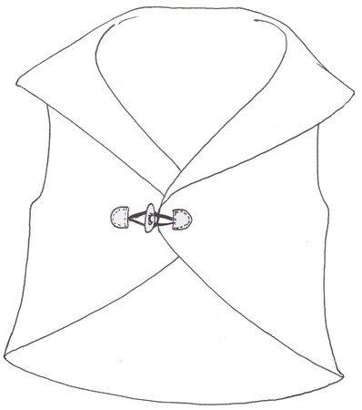 Nähanleitung und Schnittmuster: Weste ohne Nähen ! (Gr. 36-40 und 42-46)