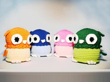 Owl - Shelf Sitter - Crochet Pattern