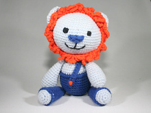Lion - Crochet Pattern