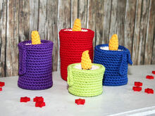 Candles - Crochet Pattern