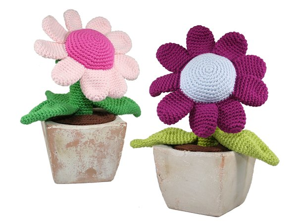 Potted Plant - Flower - Crochet Pattern