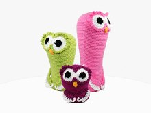 3 Owls - Crochet Pattern
