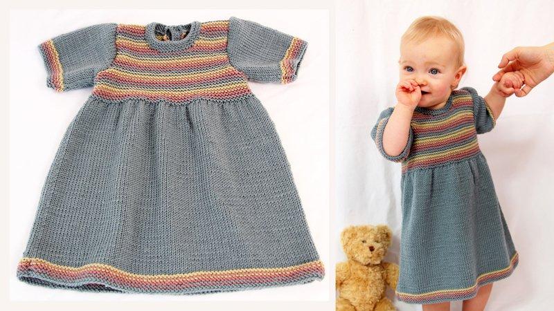 Anleitung Babykleid Lotti Gr62 92 Für Fortgeschrittene
