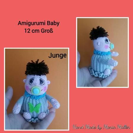 kostenlos Baby häkeln--Amigurumi jetzt häkeln