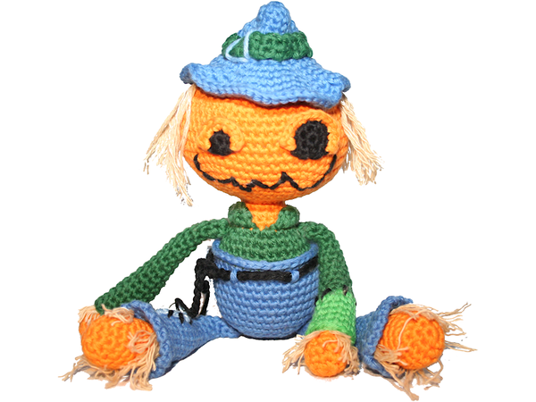 Ravelry: Amigurumi Scarecrow Cat and Crow pattern by The Enchanted ... | 450x600
