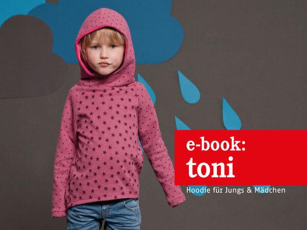 new style b43b0 d7370 Toni - Hoodie für Mädchen und Jungs 86 - 152
